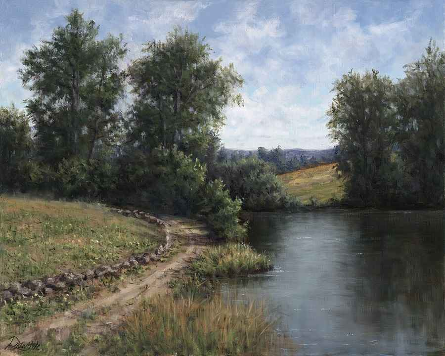 Around the Bend by  Christine Drewyer - Masterpiece Online