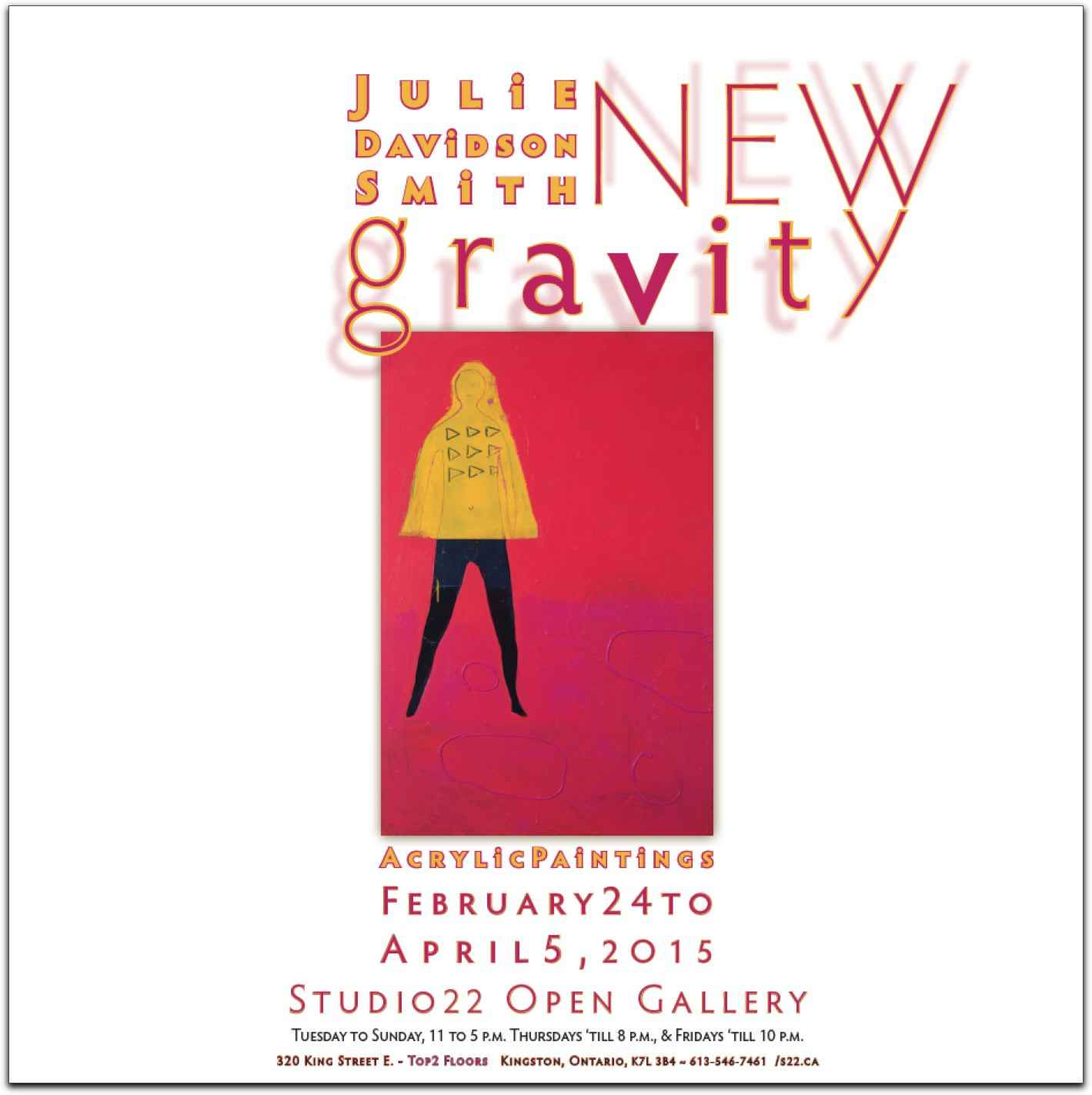 New Gravity - Julie D... represented by  by  Idea Manufactory