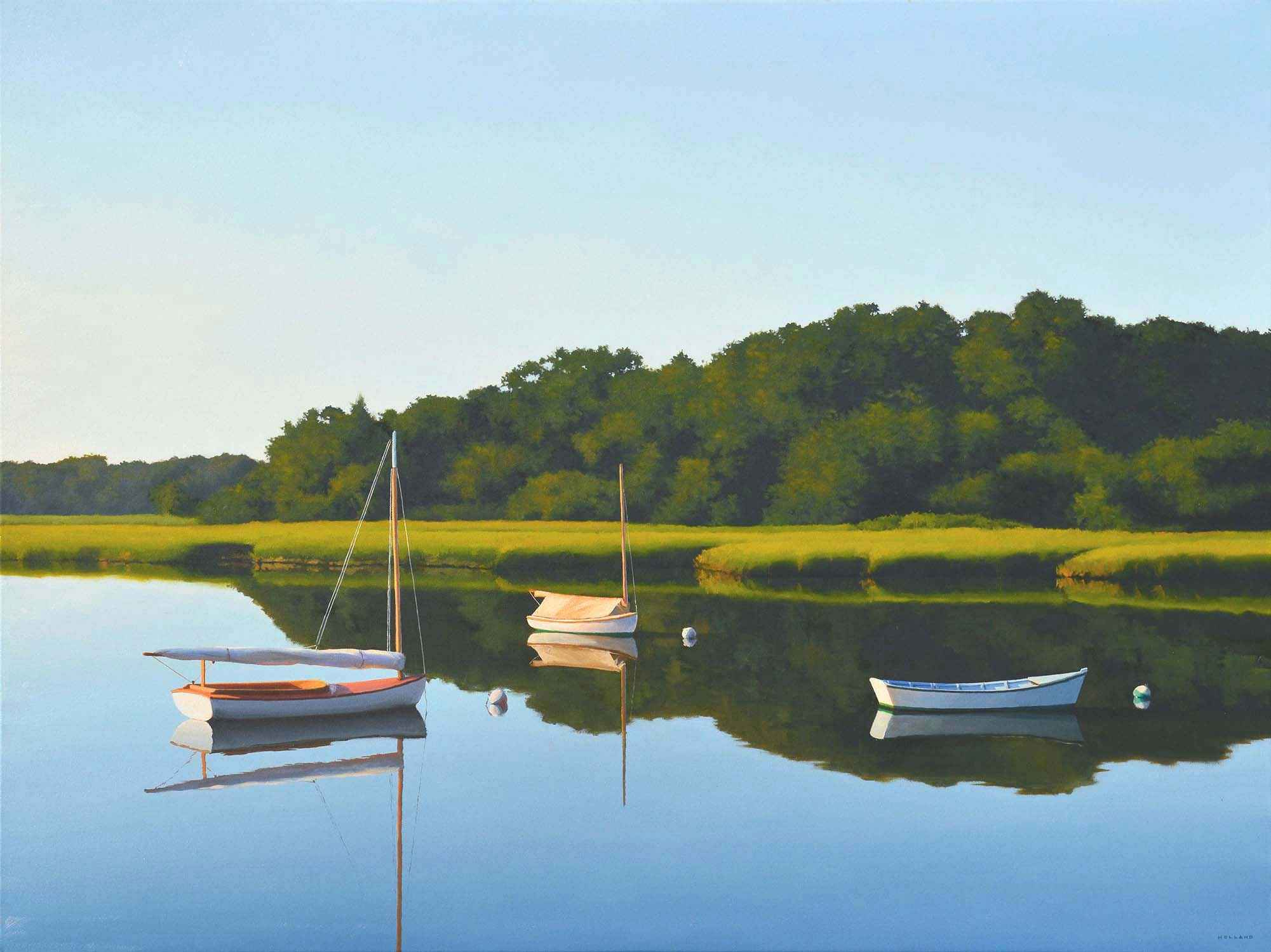 Trio by Jim Holland - North Water Gallery
