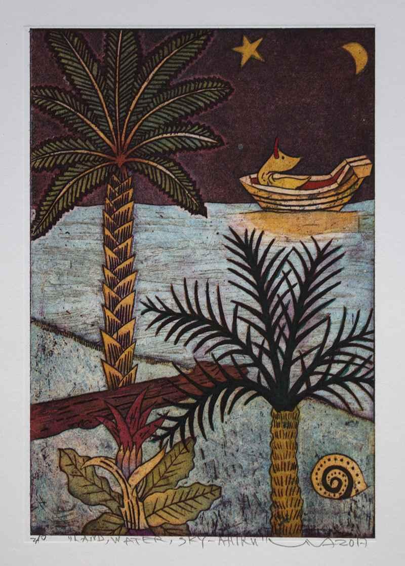 Land, Water, Sky-Ahiru by  Yuji Hiratsuka - Masterpiece Online