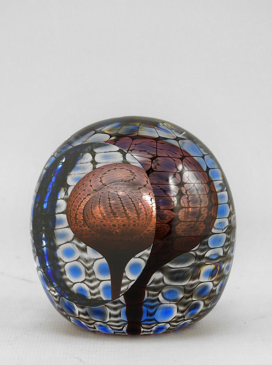 Paperweight/Red & Blue by  Thomas Philabaum - Masterpiece Online