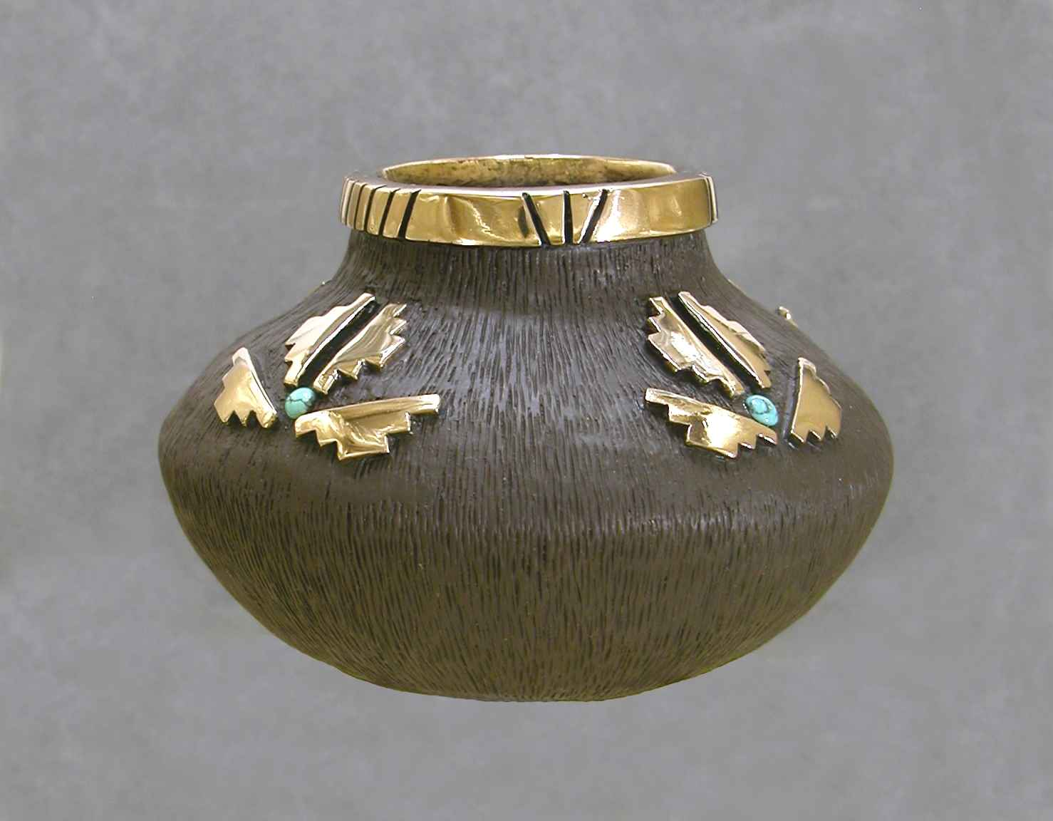 Bronze Vessel With Tu... by Mr. Fred Ortiz - Masterpiece Online