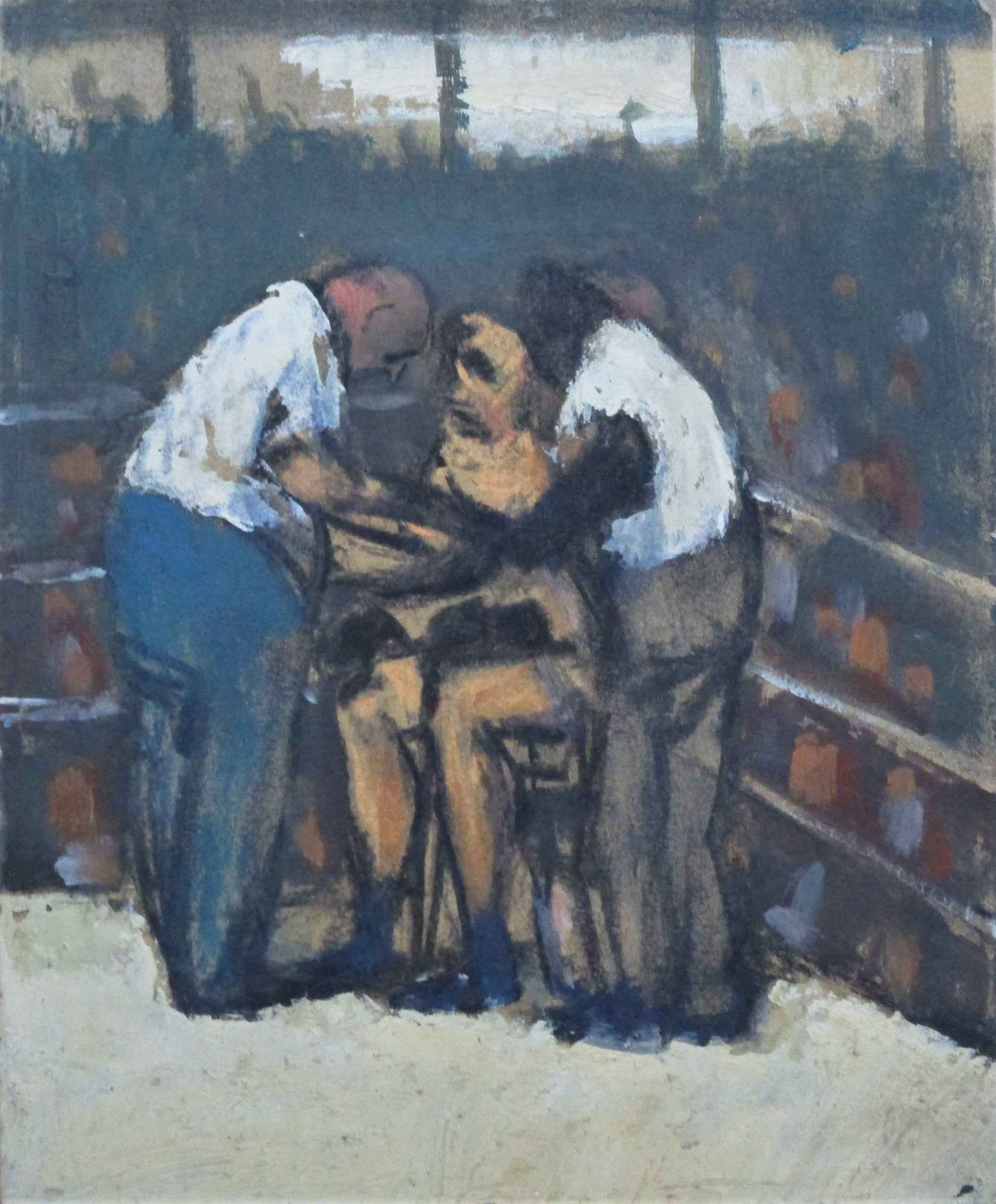Title Unknown (boxer ... by  Jefferson Tester - Masterpiece Online