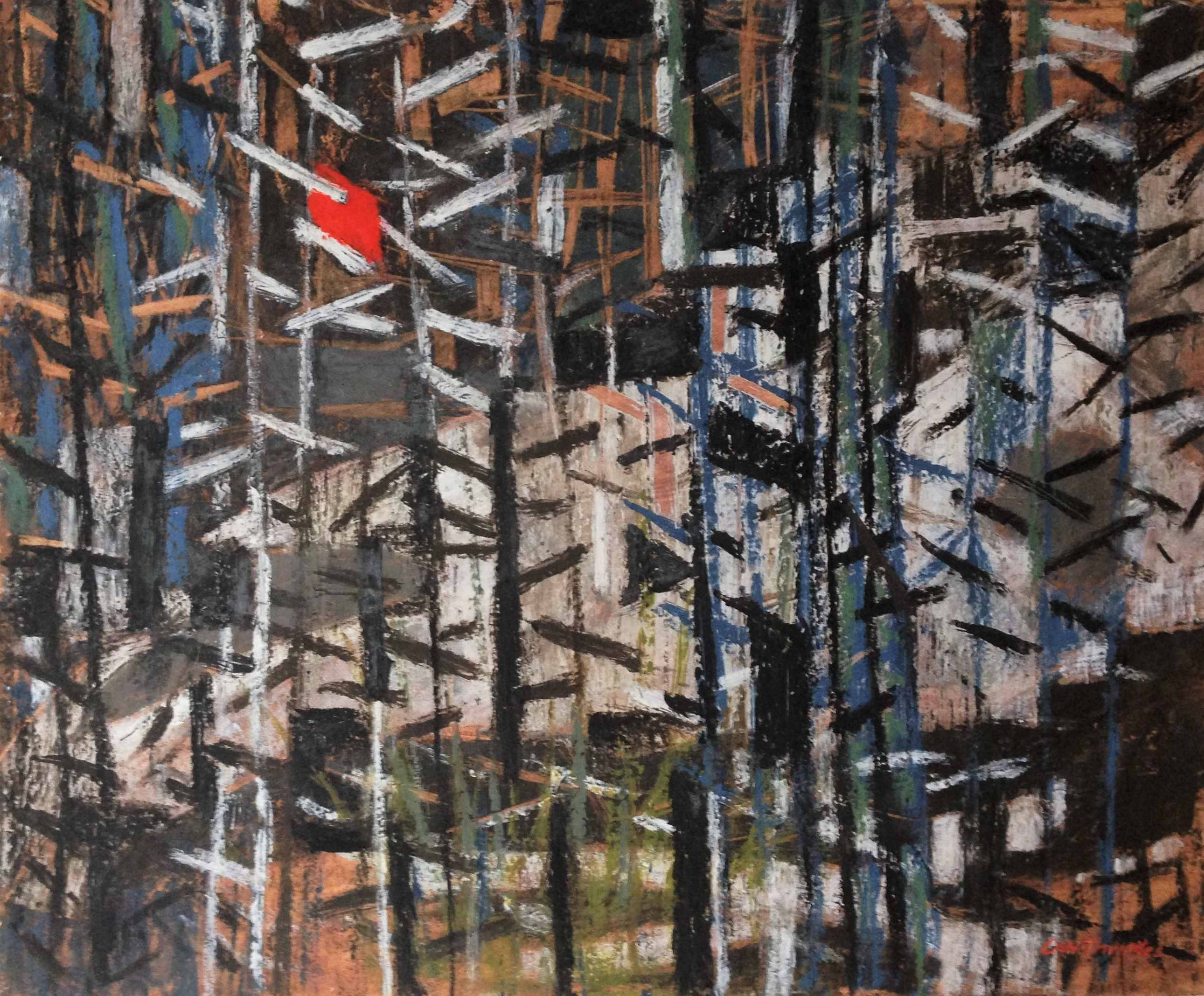 Untitled (Abstract Re... by Mr. Charles Thwaites - Masterpiece Online