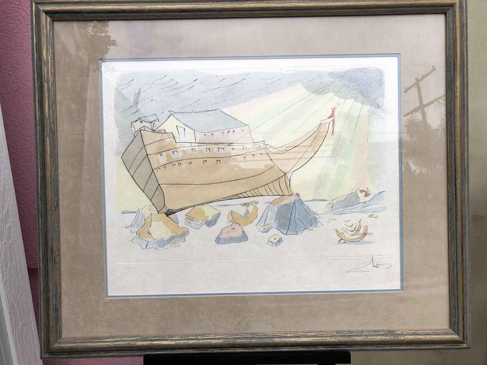 Noah's Ark by  Salvador Dali - Masterpiece Online