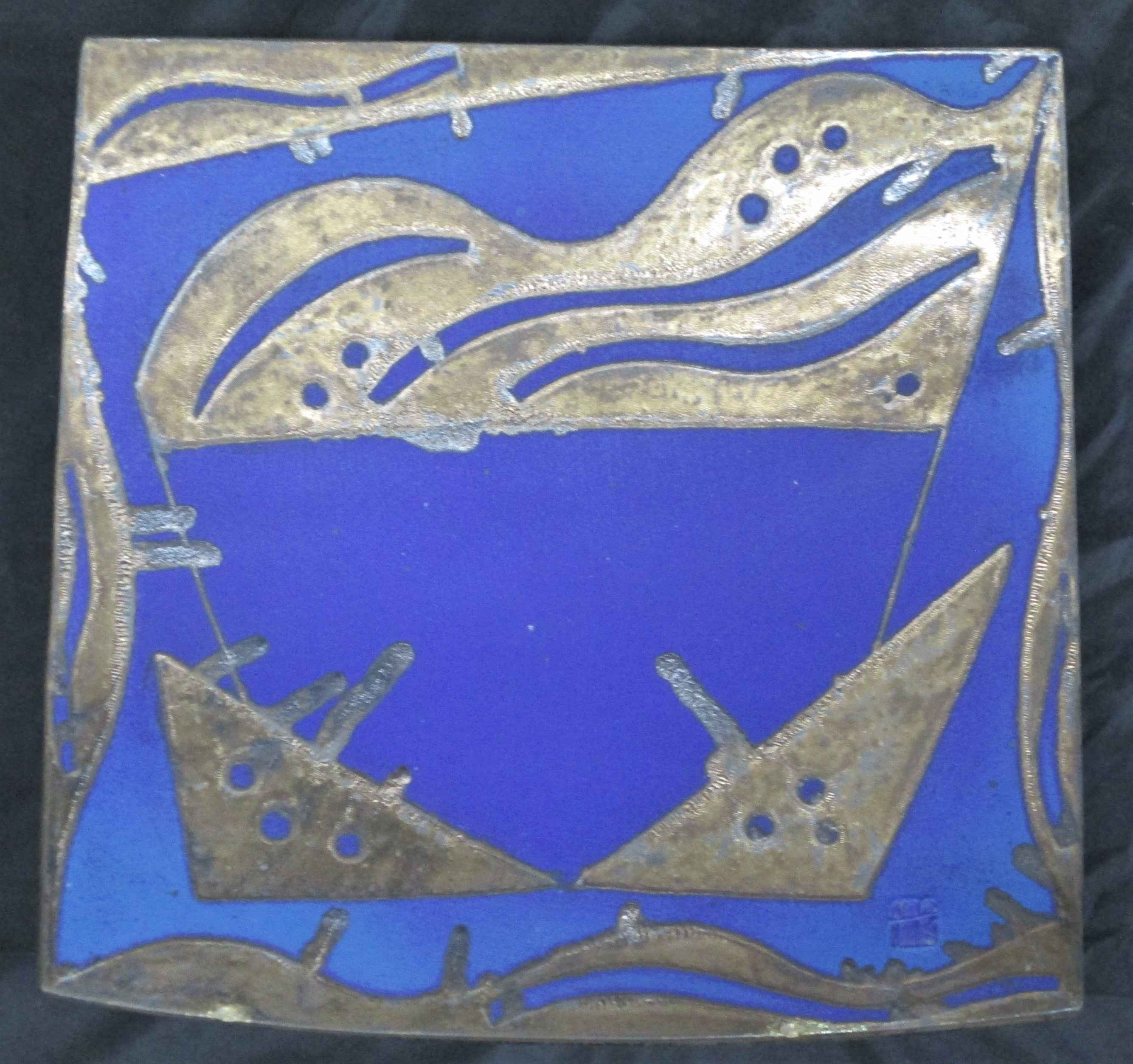 Unknown (Blue platter) by  Patrick Horsley - Masterpiece Online