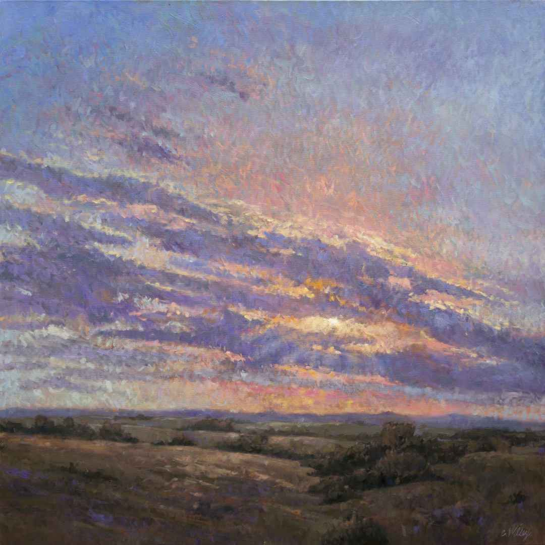 Fall Sunset by  Chris Willey - Masterpiece Online