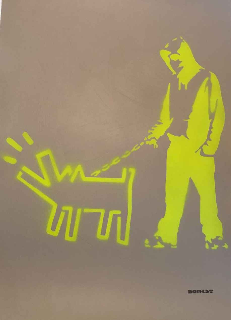 Choose Your Weapon (L... by   Banksy - Masterpiece Online