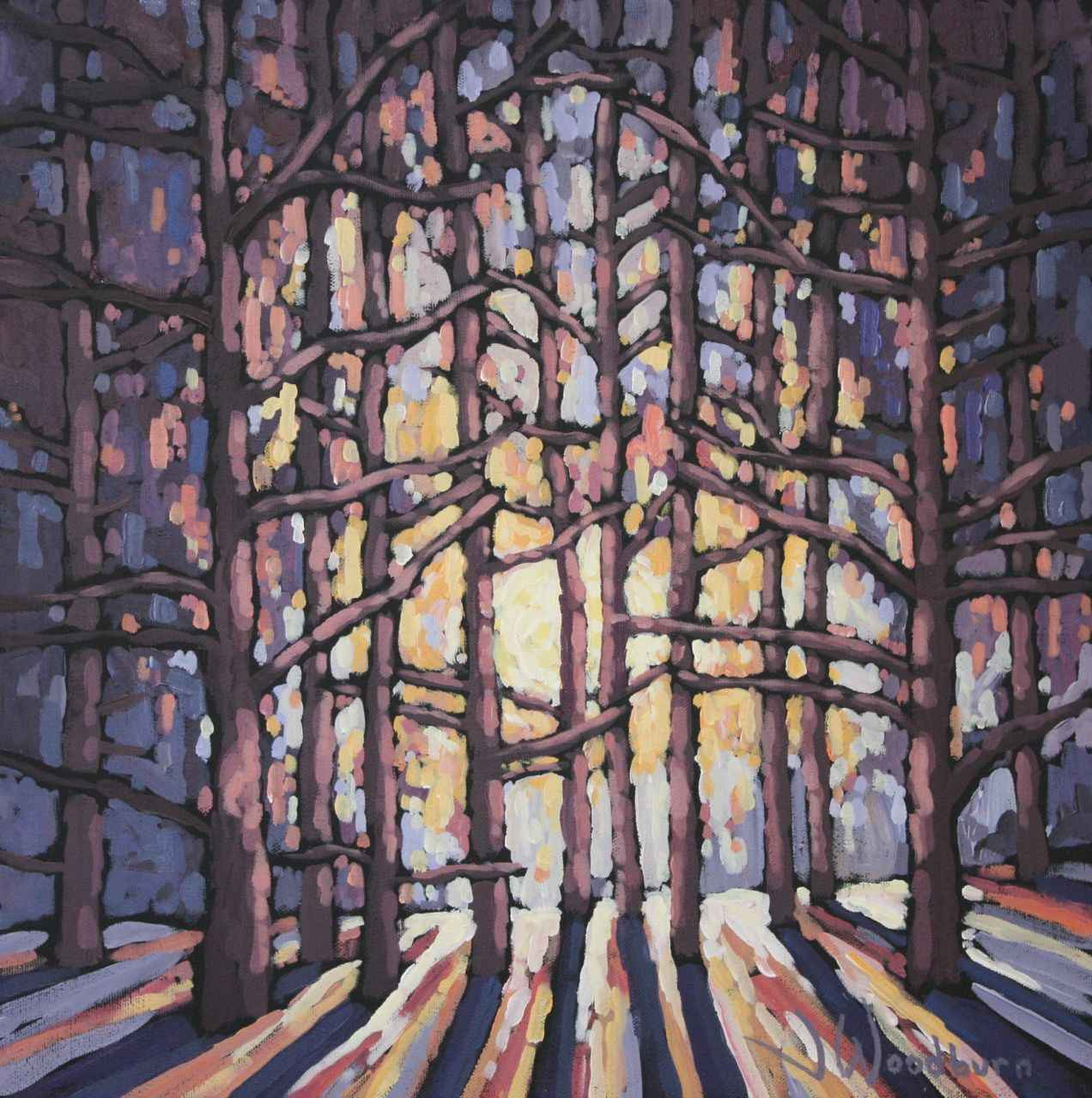 Shadows In The Aftern... by Ms Jennifer Woodburn - Masterpiece Online