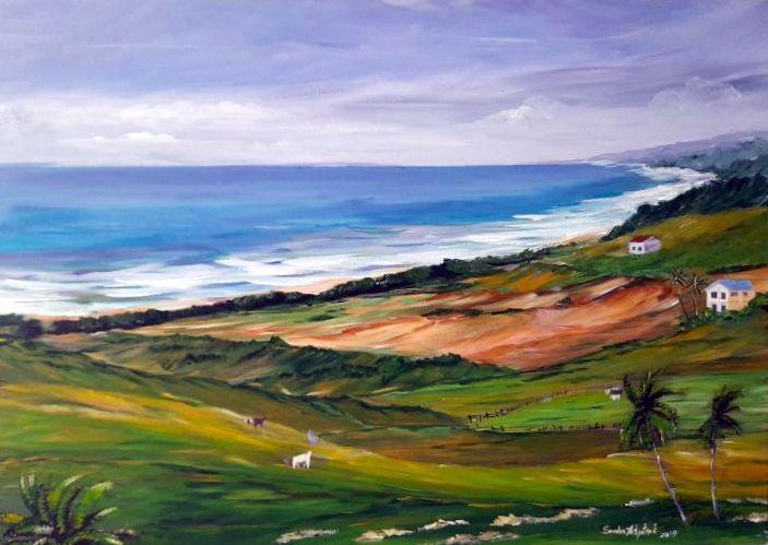 Rolling Hills by  Sandra Fritzpatrick - Masterpiece Online