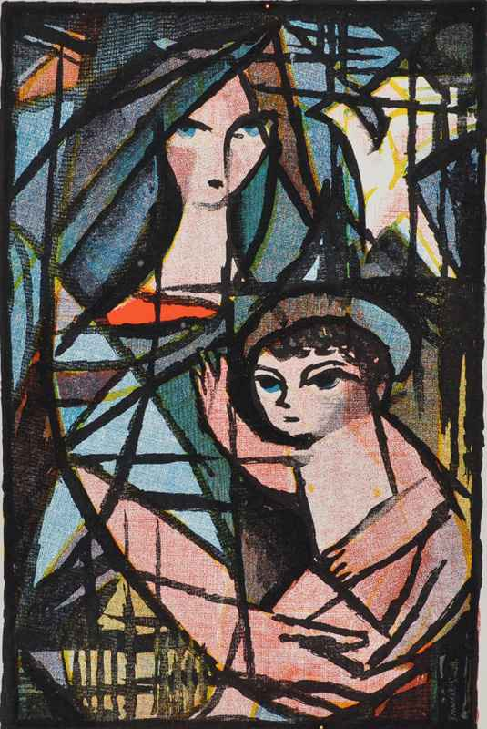 Madonna & Child by  Bernard Brussel-Smith (1914-1989) - Masterpiece Online