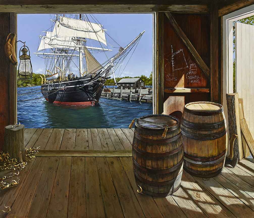 The Cooper's View by  Heather Neill - Masterpiece Online