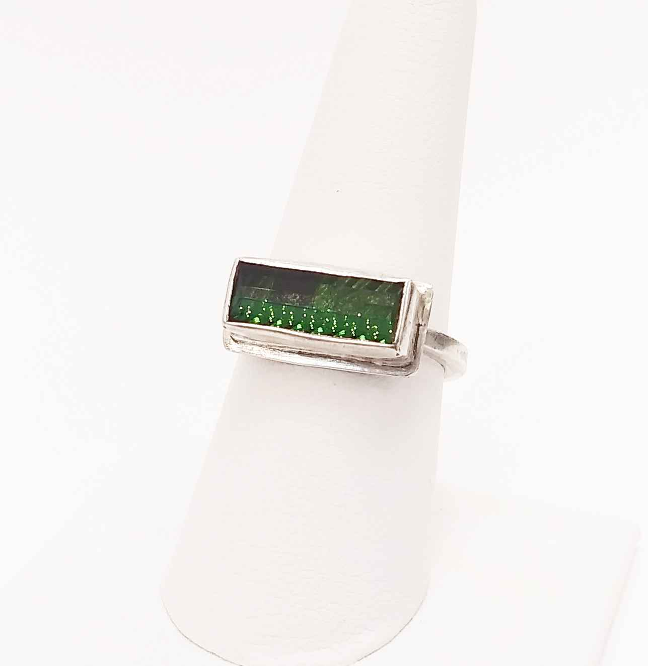 Green Tourmaline Ring by  Cathy Miller - Masterpiece Online