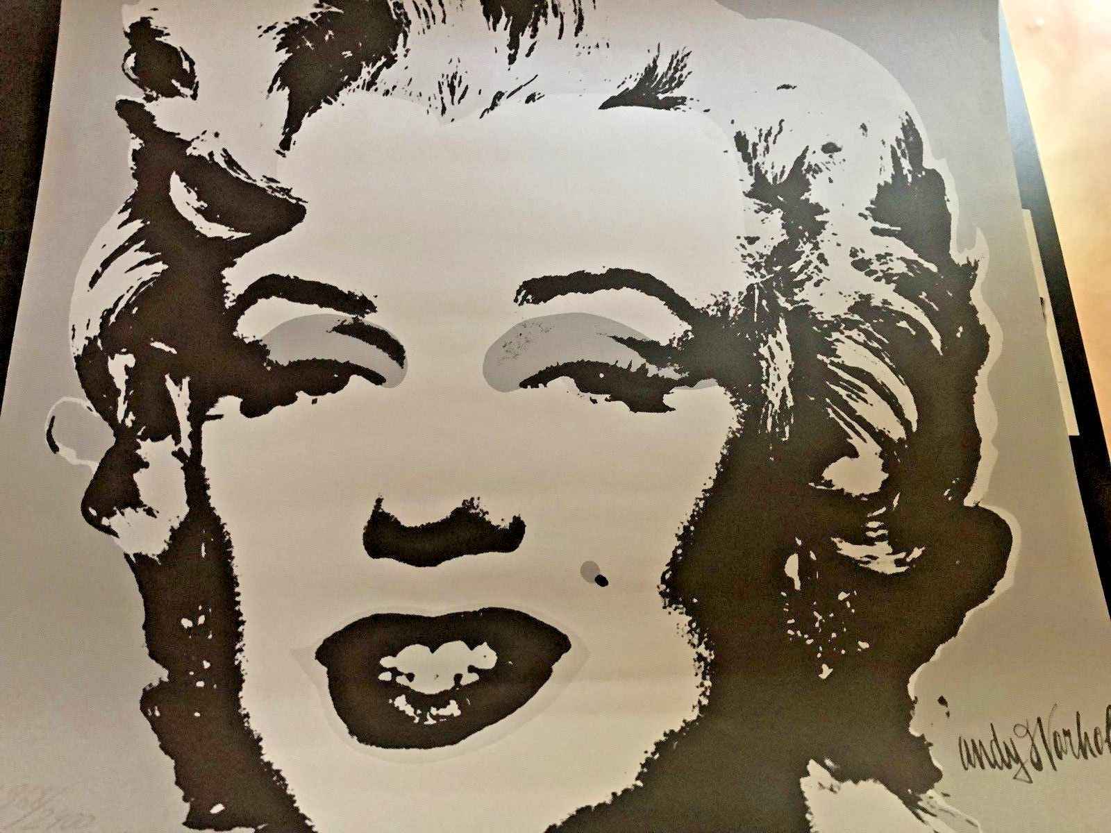 Marilyn Monroe (Gray) by  Andy Warhol - Masterpiece Online