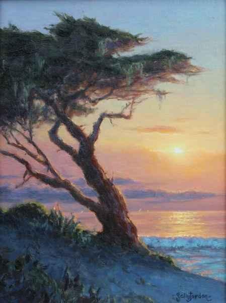 Lowering Light  by  Sally  Jordan