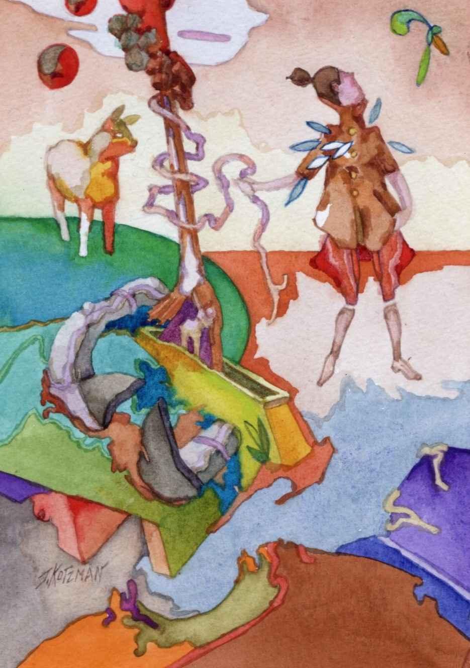 Pesky Boomerang by  Joe Kotzman - Masterpiece Online