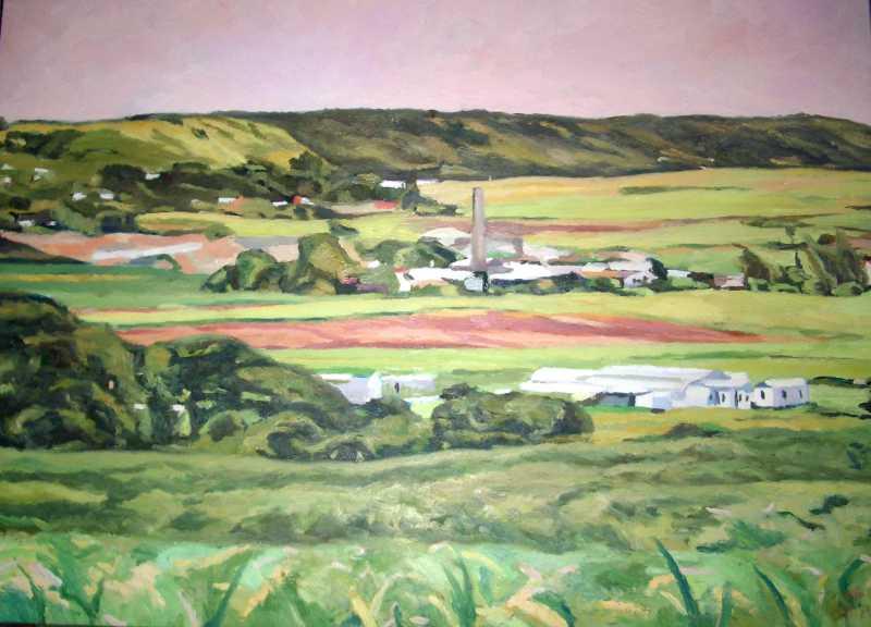 Landscape with Old Mi... by Mr. Winston Breedy - Masterpiece Online