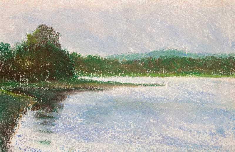 Evening, Lake DeGray by Mr Mark Stewart - Masterpiece Online