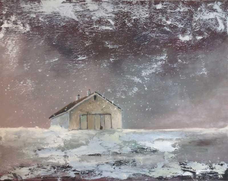 Snow and Sleet by  Julie Cyr - Masterpiece Online