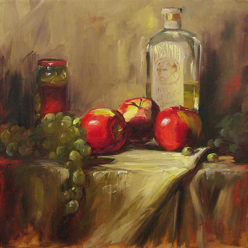 Absinthe by  Lori Twiggs - Masterpiece Online