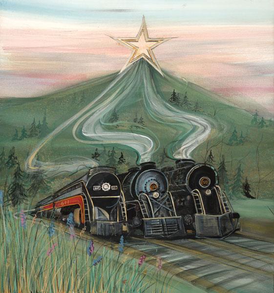 DP-Stars of Roanoke by  P. Buckley Moss  - Masterpiece Online