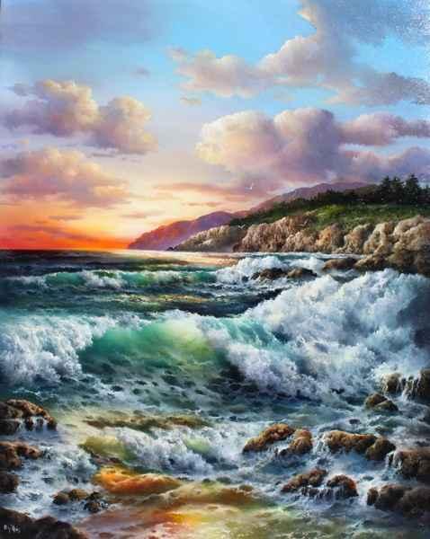 Sundown by   Dy'Ans  - Masterpiece Online