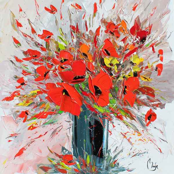Red Radiance by  Louis  Magre - Masterpiece Online