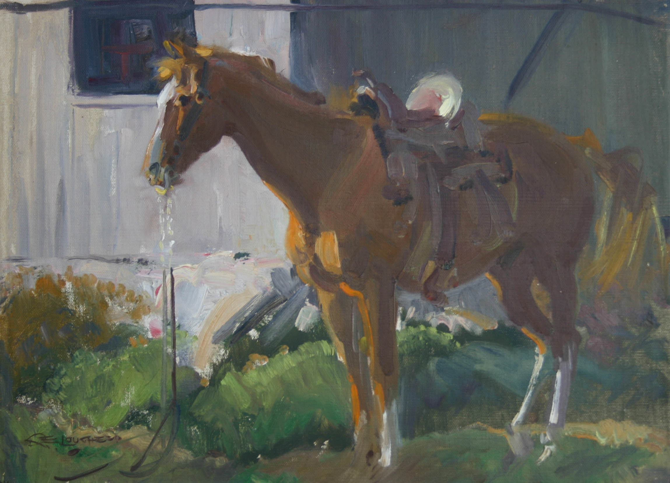 Saddle Horse by  Robert Lougheed - Masterpiece Online