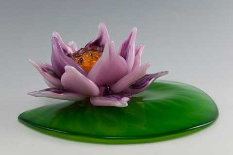 Water Lily by  Jeff & Heather Thompson - Masterpiece Online