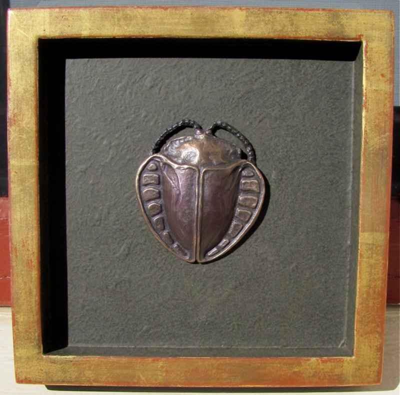 Tortoise Beetle by  George Barnhill - Masterpiece Online