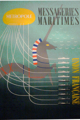 Messageries maritimes by   Poulain - Masterpiece Online