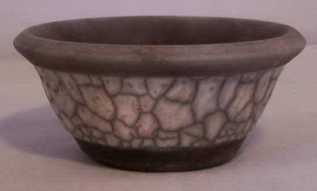 White Crackle Bowl by Ms Kathryn Rehfield - Masterpiece Online