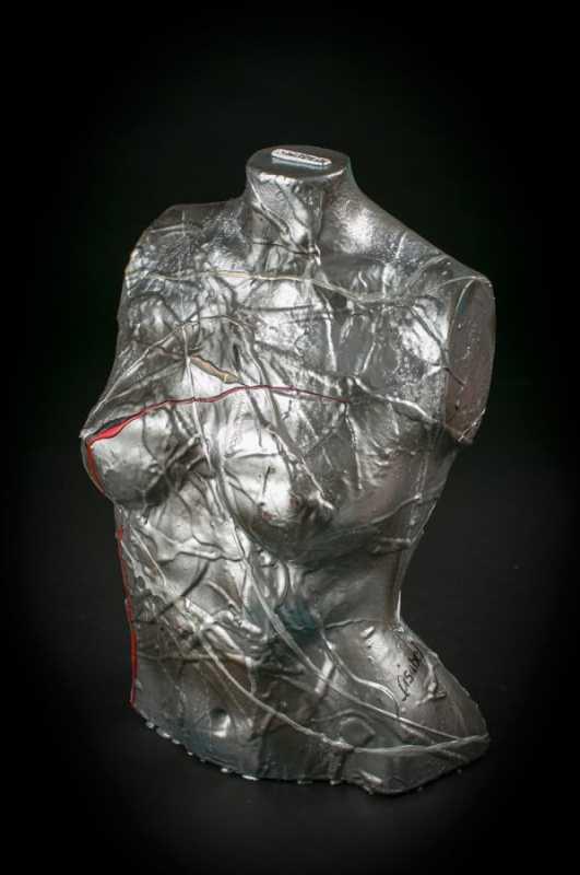 MNQ blanc noir cuivre by  Lisabel  - Masterpiece Online