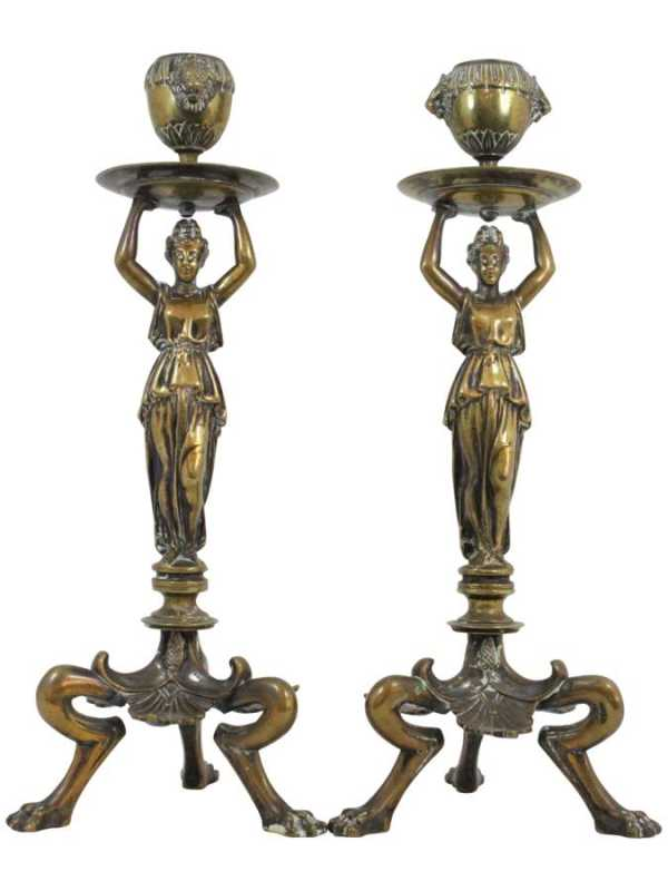 Pair of Regency Candl... by   English - Masterpiece Online