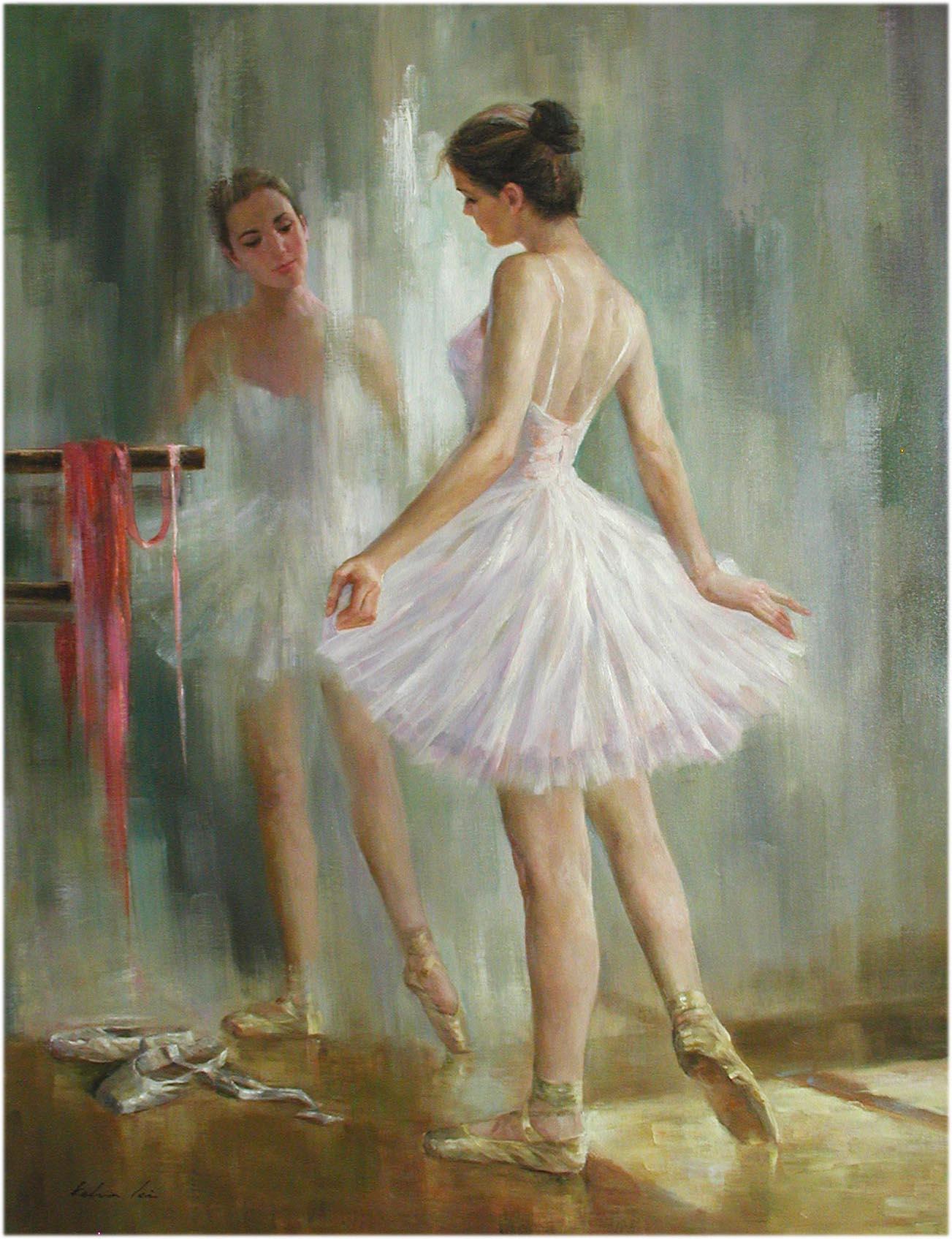 The Ballet Class by  Kelvin  Lei - Masterpiece Online