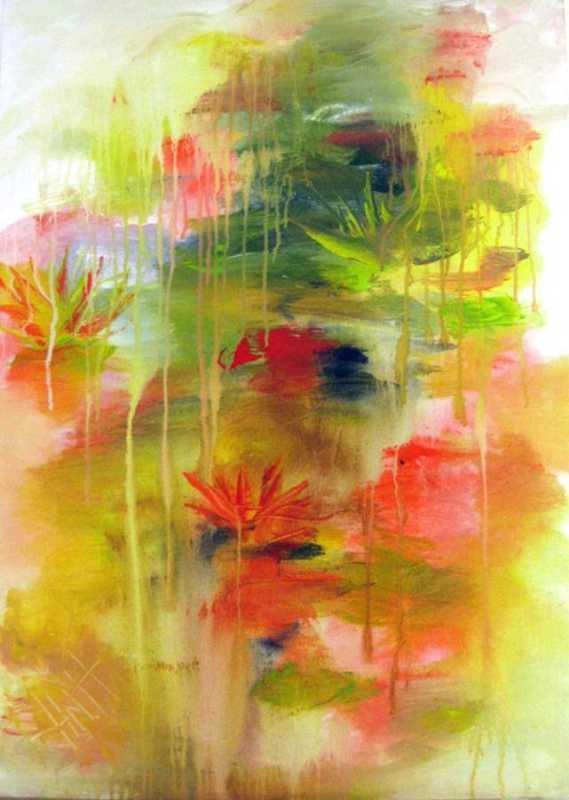 454 Lily Pond 10 by Mr Nicholas Hadeed - Masterpiece Online