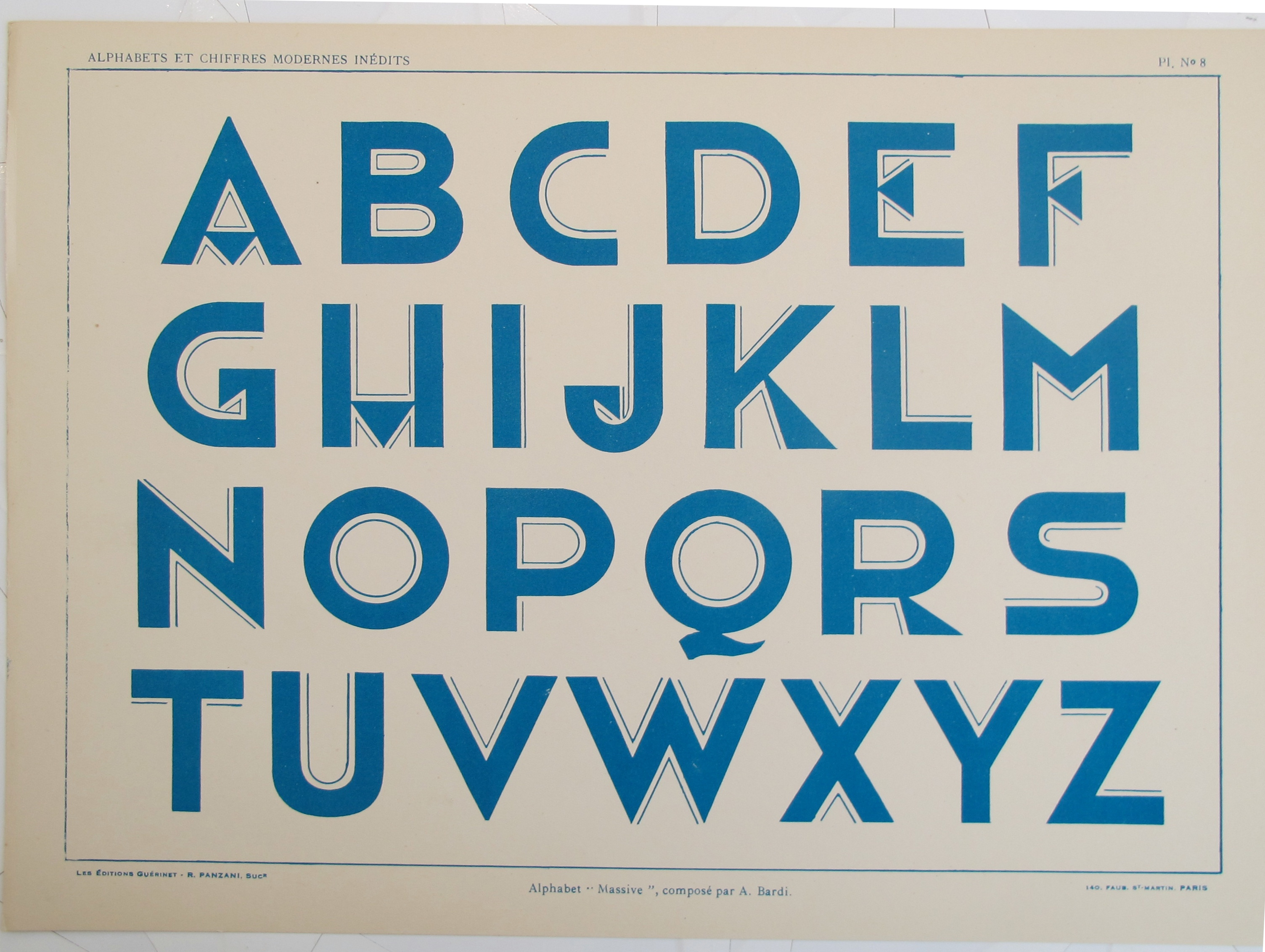 Typography - Vignette... by  A.  Bardi - Masterpiece Online