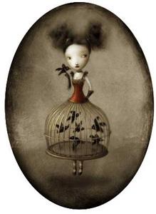 Gabbia  by  Nicoleeta Ceccoli Prints