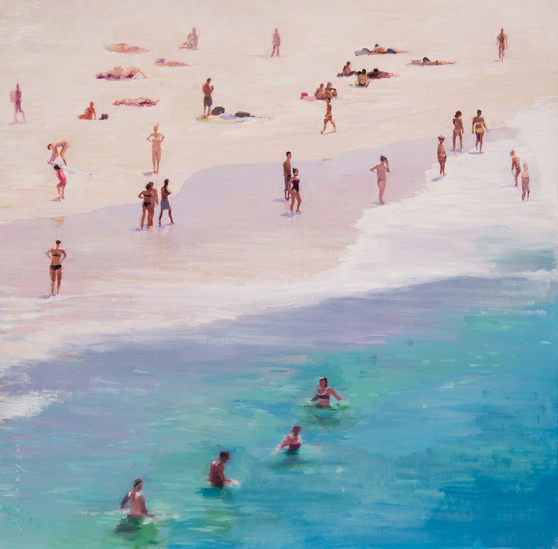 Beach Day, Bondi #1  by  Paul Ferney