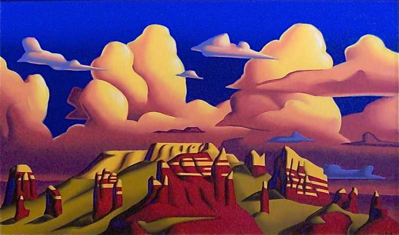 Sedonarama by  Art Decker - Masterpiece Online