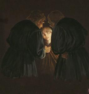 Hans And Schwartz Thr... by  Juan Wijingaard - Masterpiece Online