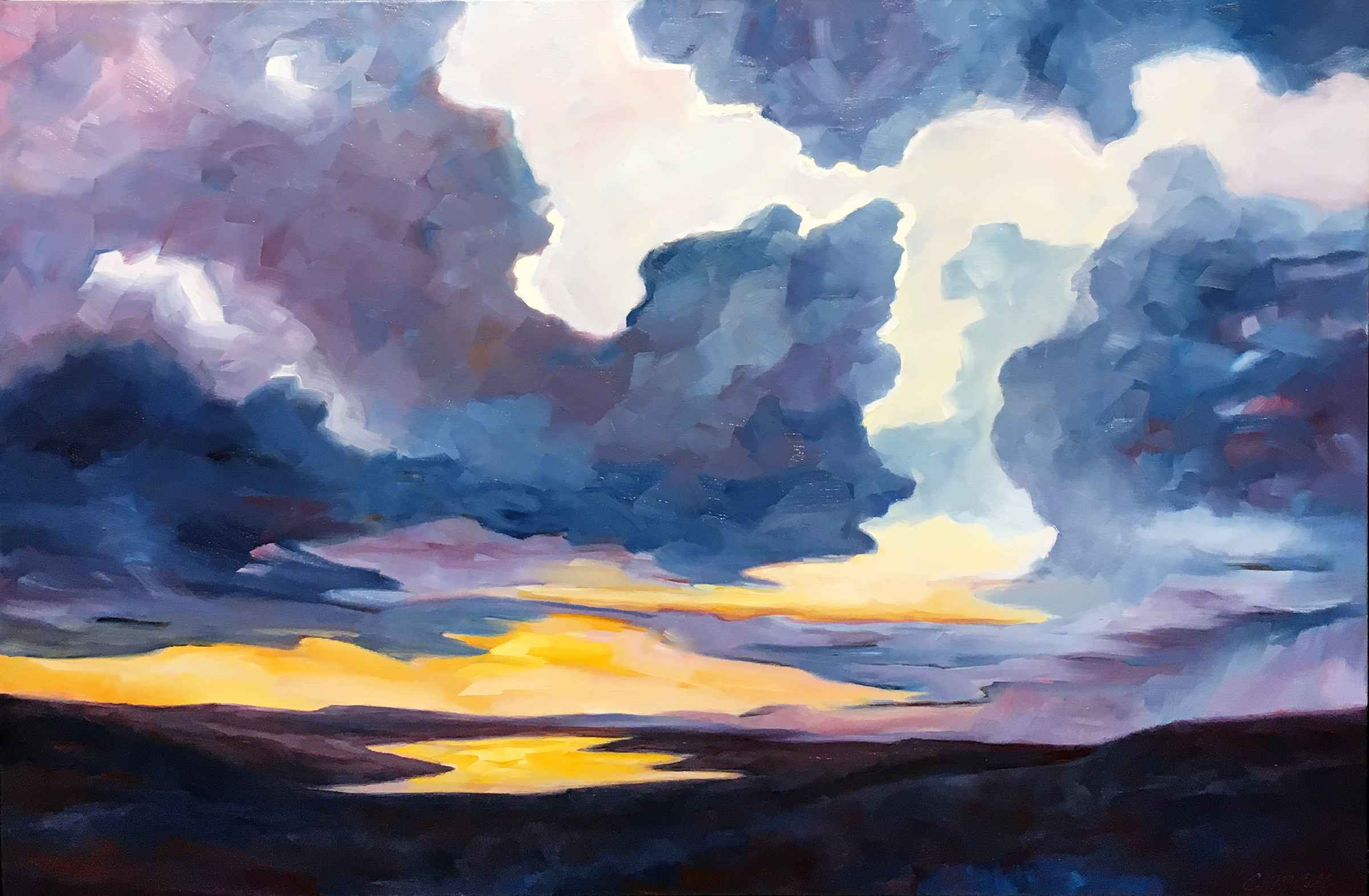 Evening Clearing by  Carol McCall - Masterpiece Online