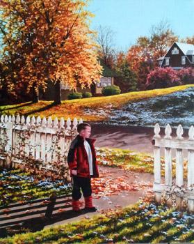 Waiting for Winter by   Teresa  Wheeler - Masterpiece Online