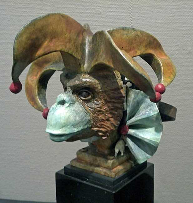 Carnival Monkey (1226) by  Theodore (Ted) Gall - Masterpiece Online