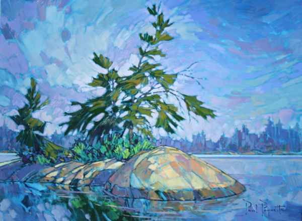 Moody Shore by  Paul Paquette - Masterpiece Online