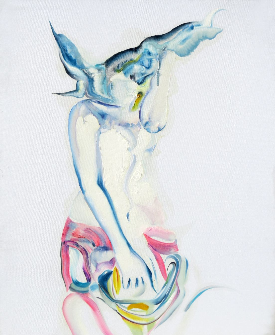 Flashing Body Entwined  by  Peng Qi