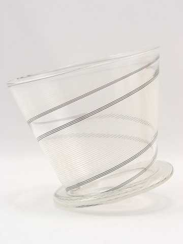 Rolling Glass/White by  Pamina Traylor - Masterpiece Online