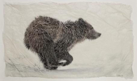 Running Grizz by  Pete Zaluzec - Masterpiece Online