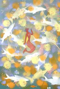 Mermaid II by  Dan Yaccarino - Masterpiece Online