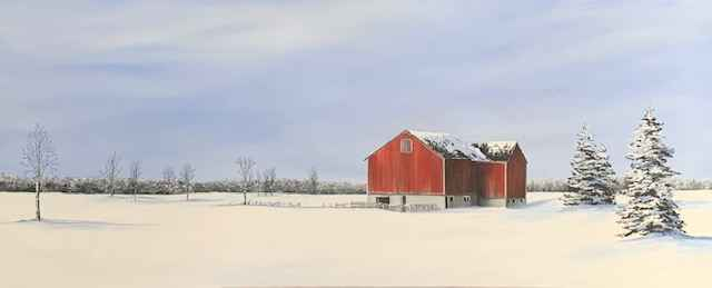 A Bright Winter's Day by  Janet Liesemer - Masterpiece Online